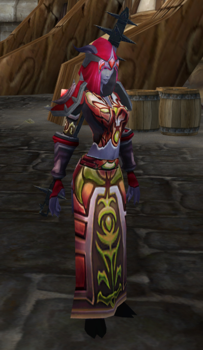 Patterned robe, Valiance Keep