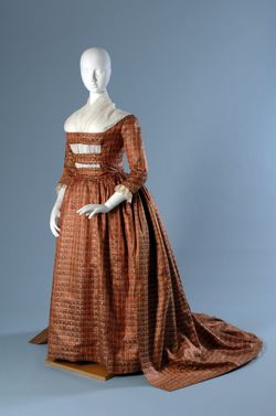 18th century afternoon dress