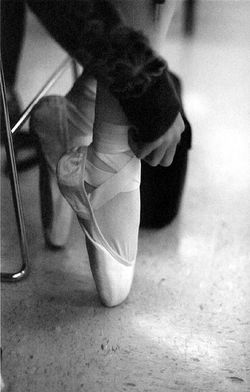 Ballet-toe-shoes