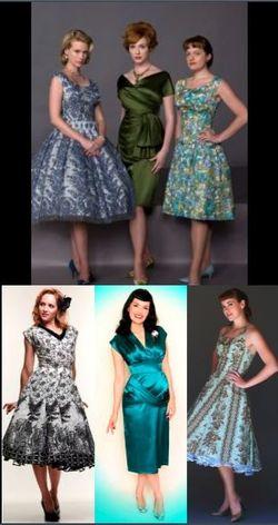 Mad Men Vintage Dresses