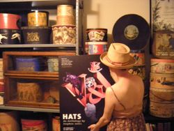 Wendy Ann Rosen hat boxes