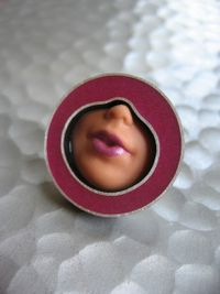 Margaux Lange Barbie lips ring