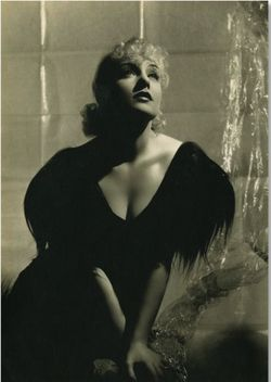 Carole Lombard George Hurrell cellophane
