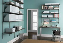 Container Store Elfa home office