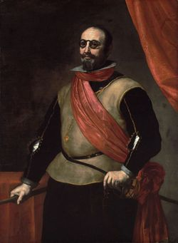 Ribera Portrait of a Knight of Santiago 1630s