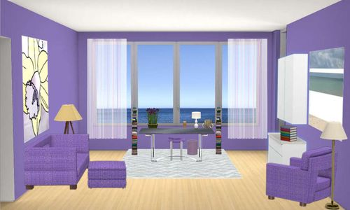 Digital Dollhouse ocean view office