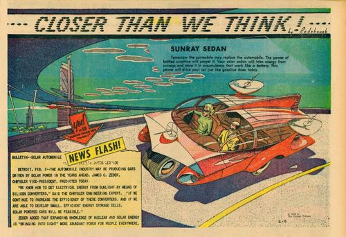 Paleofuture chysler solar-powered cars 1958 closer than we think