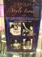 Carolee style icons Michelle Obama Jackie Kennedy Eva Peron Wallis Simpson