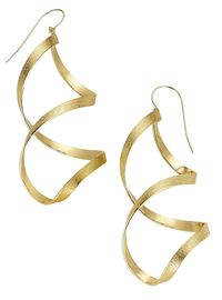 Sandy Leong Intertwining Wave Earrings