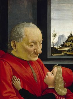 Ghirlandaio_Portrait of an Old Man and a Boy_Louvre