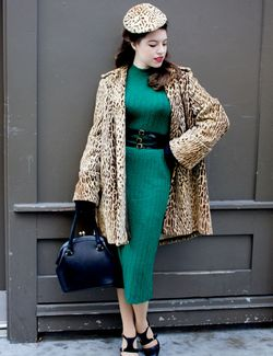 Solanah-greendress-leopard